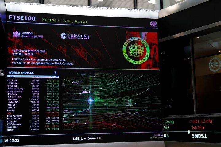 Shanghai-London Stock Connect Sets USD79 Billion Trade Cap