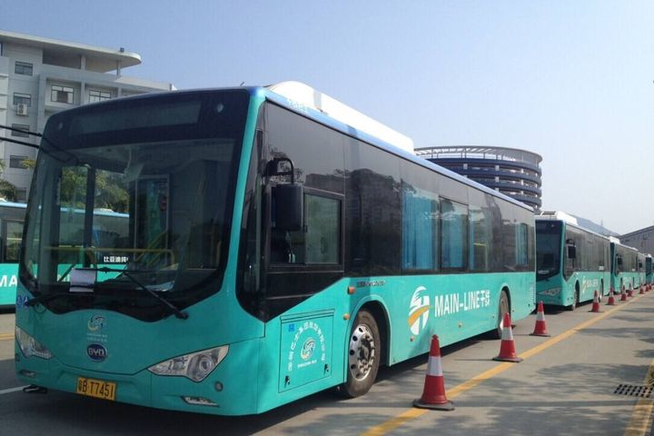 Shenzhen to Make All Public Buses Pure Electric by End of September