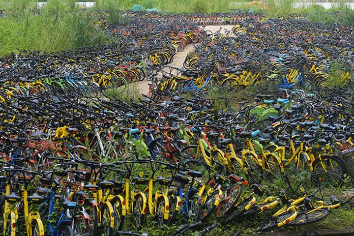 Shenzhen to Recycle City's Junked Shared Bikes