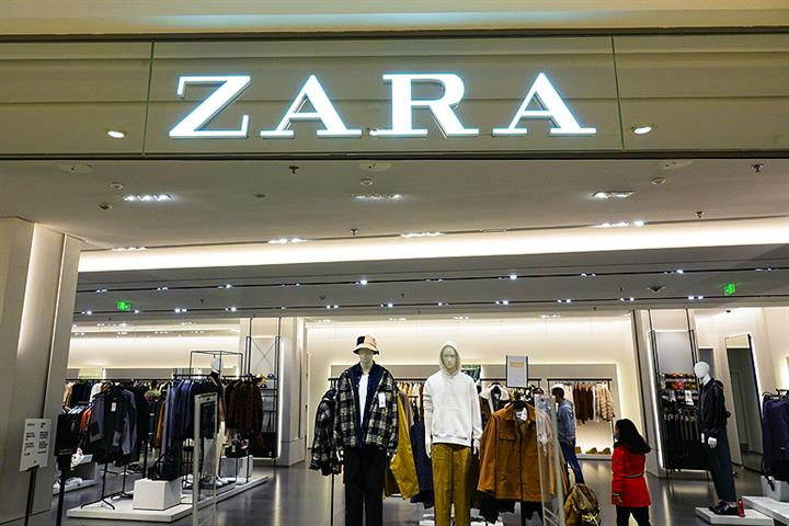 Spain's Inditex to Close All Shops of Zara's Three Sister Fashion Brands in China