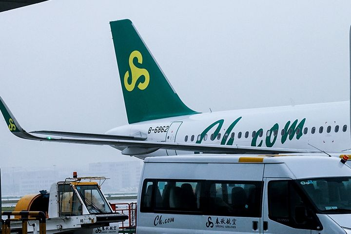 Spring Airlines Sees First-Half Profit Jump 17.5% Despite Downturn at Chinese Carriers