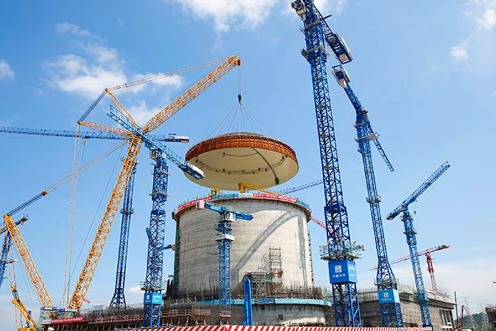 Taihai Manoir Delivers Main Pipelines for First Third-Gen Hualong One Nuclear Reactor