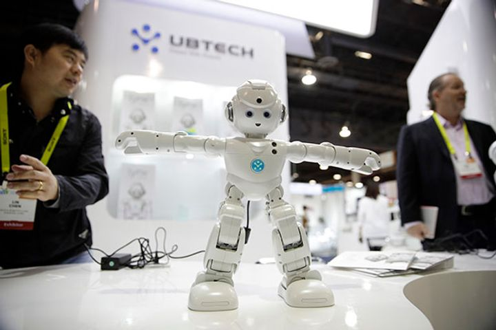 Tencent Backs Robot Maker Ubtech in USD40 Million Financing Round