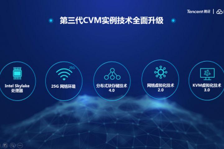 Tencent Cloud Unveils 3rd-Generation Server Matrix