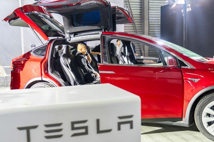 Tesla's China Revenue Slid Last Year on US Trade Dispute