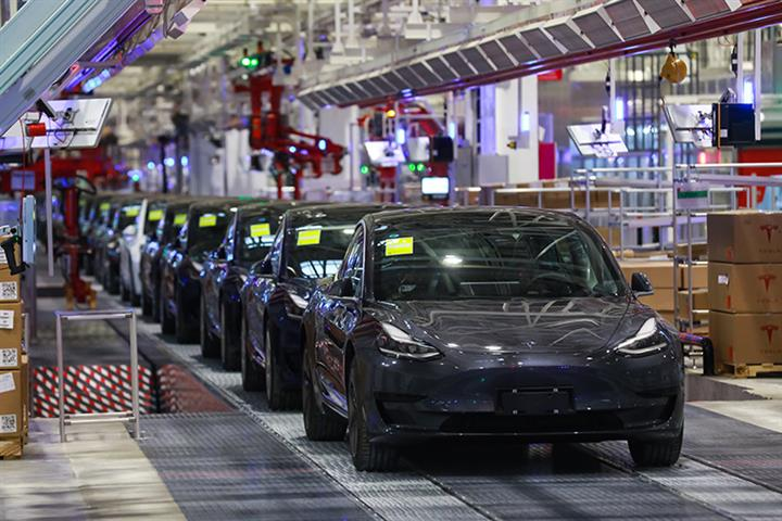 Tesla Has Record USD438 Million First-Quarter Profit on Strong China Demand