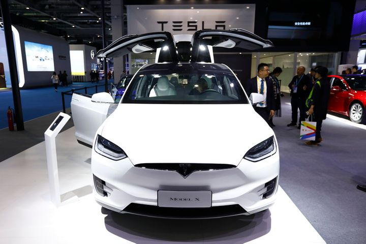 Tesla Recalls 3,183 Model X Cars in China