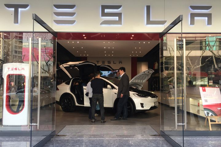 Tesla Reiterates It Is in Talks With Shanghai to Build a Factory