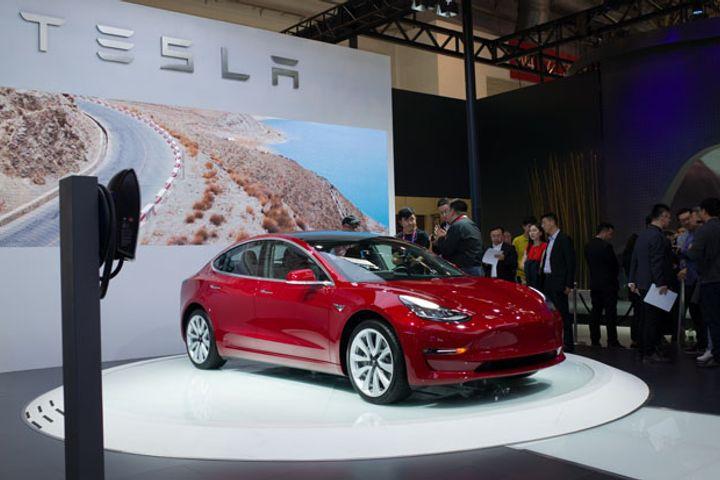 Tesla's Shanghai Factory to Produce 3,000 Model 3 Cars a Week