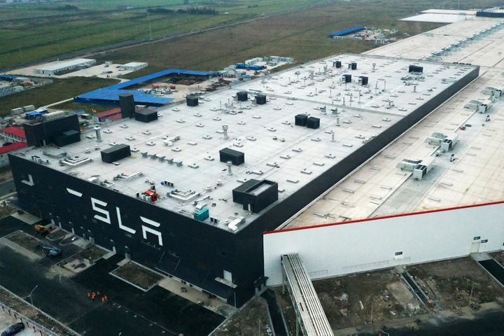 Tesla's Shanghai Gigafactory Powers Up