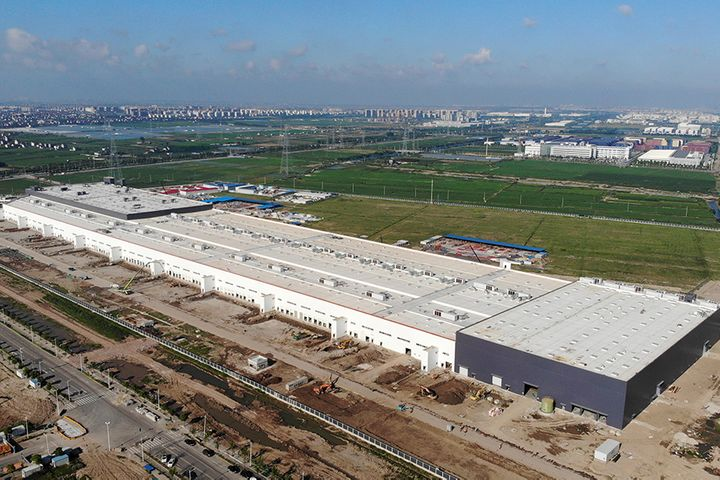 Tesla's Shanghai Gigafactory Wraps Up First Phase on Path to Finish Line by Year-End