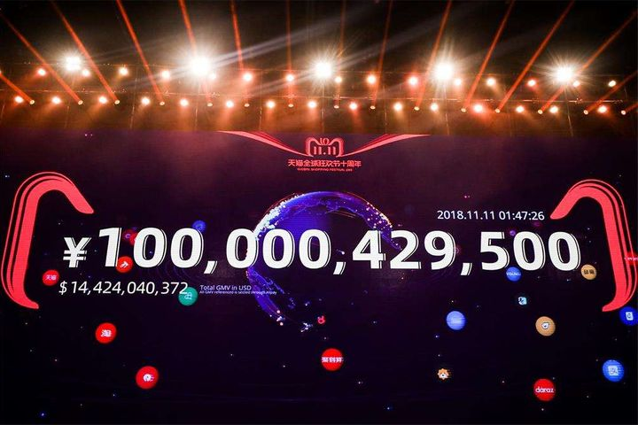 Tmall Trades USD1.4 Billion in Under Two Hours on China's Online Shopping Fest