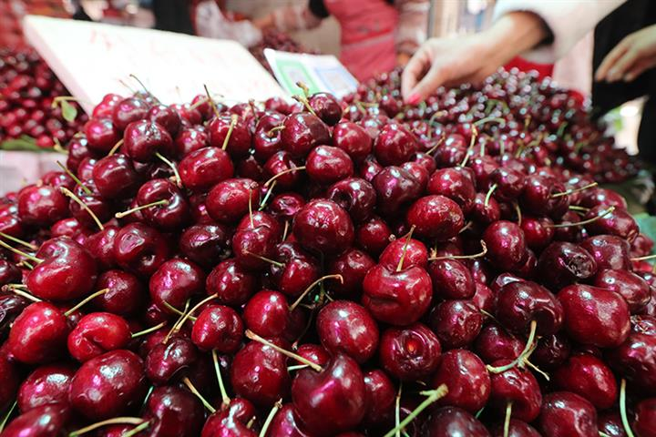 Cherries, Seafood Are Top Buys for Young Chinese Consumers as Holiday Nears, Tmall Says