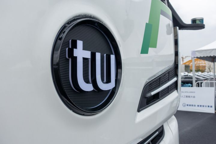 TuSimple Is First to Get China's Nod to Road Test Driverless Trucks