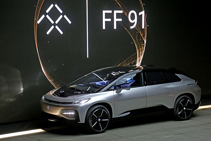 US EV Startup Faraday Future Names New Executives to Attract Funding
