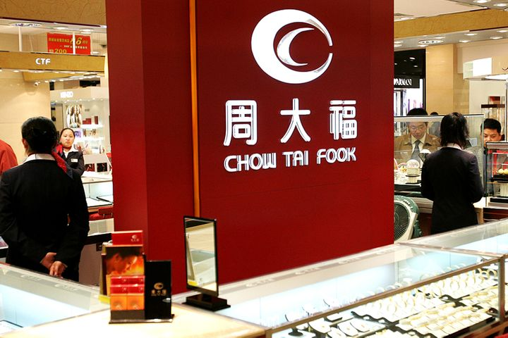 Virus Halved China Sales at Hong Kong Jeweler Chow Tai Fook in First Two Months