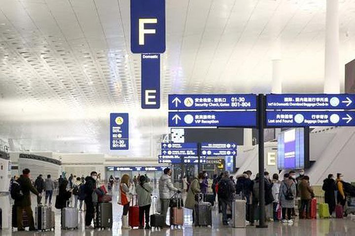 Virus-Stricken Wuhan's Airport Is Still Flying After Stop Order, But Flights Will Tail Off