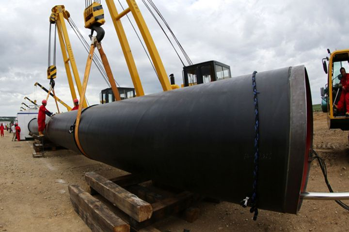 Welding Work Begins on Northern Section of China-Russia Natural Gas Pipeline