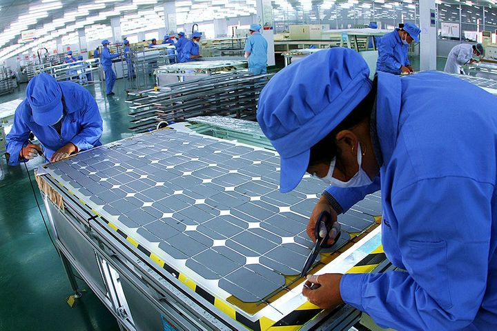 Word's Solar Panel Maker No. 2 to Build USD933 Million Plants to Boost Market Share
