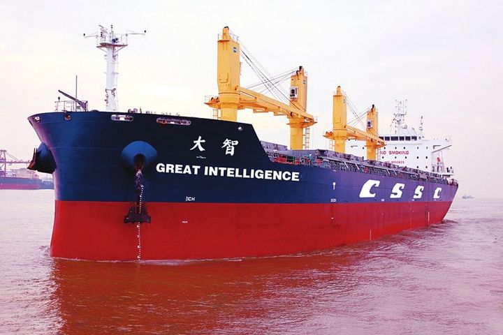 World's First Smart Ship Launches in China