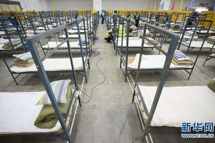 Wuhan Creates More Makeshift Hospitals to Ensure Treatment for Virus-infected Patients