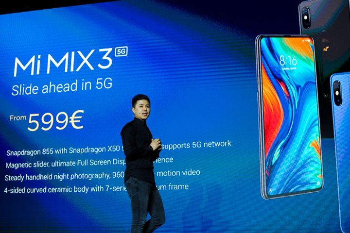Xiaomi Debuts Its First 5G Handset to Ride the 5G Tide