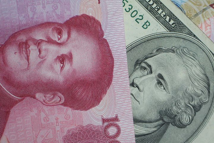 Yuan-Dollar Exchange Rate Rises to 16-Month High of 6.43
