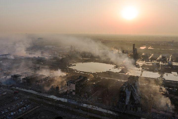 Zanyu Shares Drop as Jiangsu Follows Up Fatal Blasts With Chemicals Crackdown