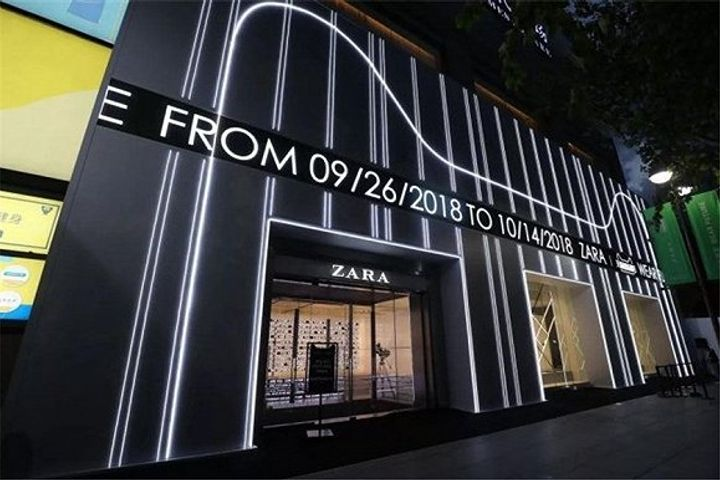 Zara Opens Its First Concept Fashion Store in Shanghai